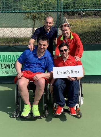 Český tenisový svaz vozíčkářů World team